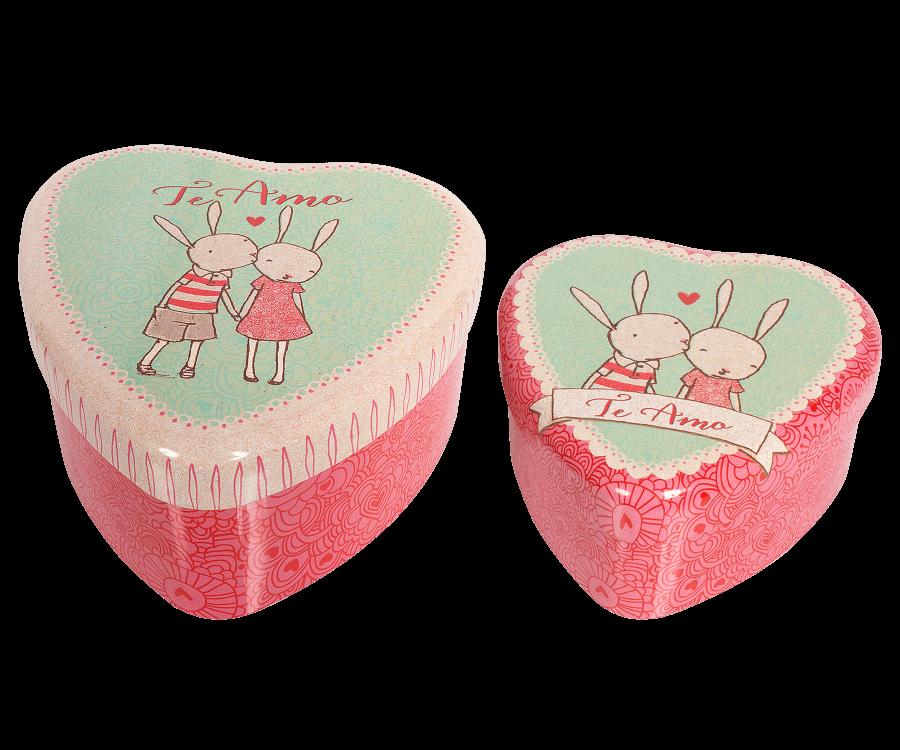2  Metal Heart, Rabbit, Set